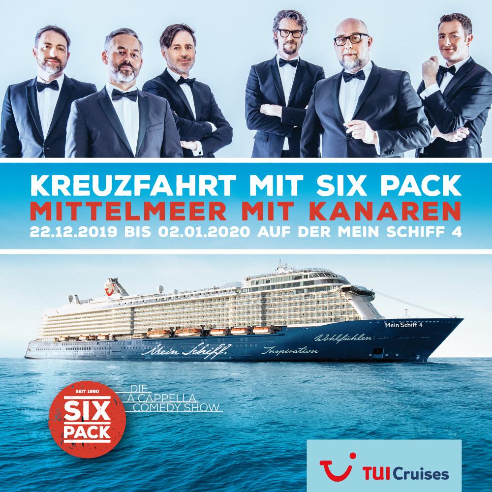 Mein Schiff Kreuzfahrt 2019 mit Six Pack
